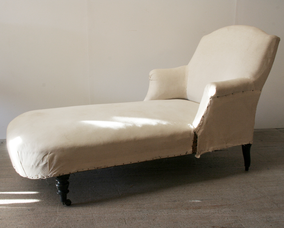 Napoleon iii period chaise longue haunt antiques for for Chaise longue company