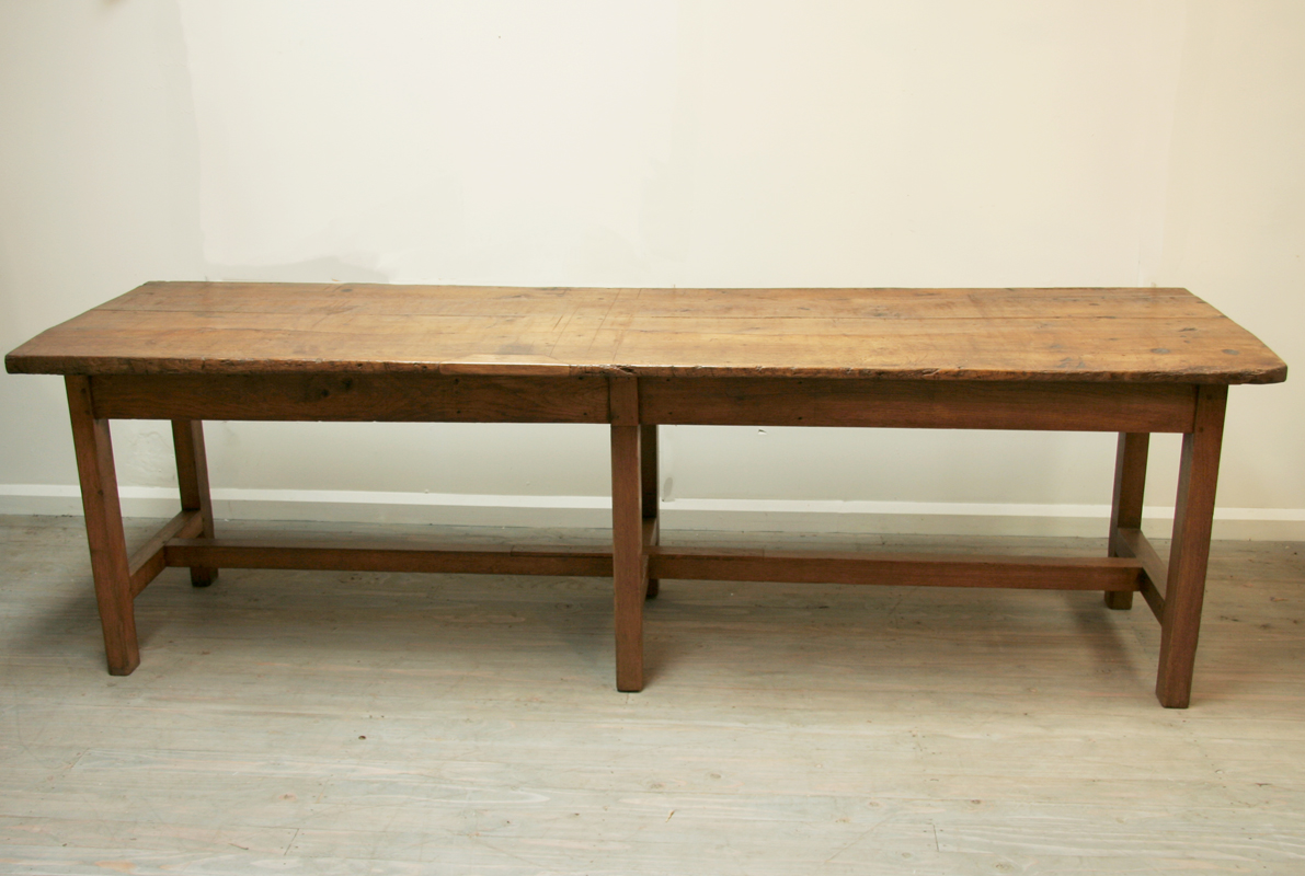 Oak Rustic Dining Table Haunt Antiques For The Modern Interior