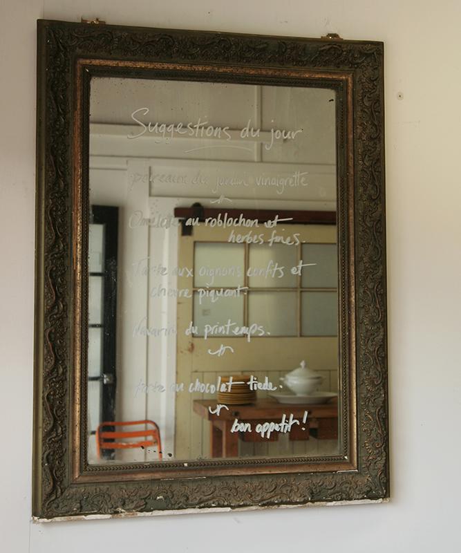 Belle Epoque Dark Green And Gilt Mirror Haunt Antiques
