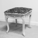 Louis 15 Style Painted Stool
