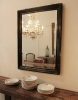 French Black 19th Century Mirror