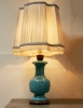 French Chinoiserie Porcelain Lamp