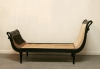 French Ebonised Empire Daybed