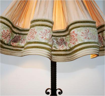French Belle Époque Standard Lamp