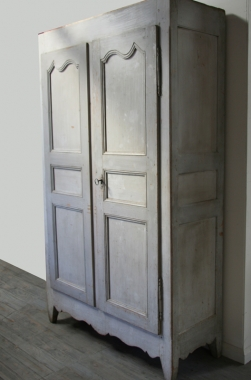 French 18 th Century Painted Armoire