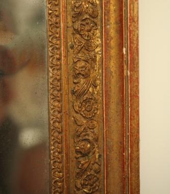 Petite Louis 16 Style Mirror