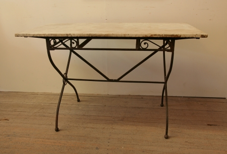 French 1930's Outdoor Table