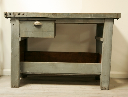 French Engineering Workshop Bench