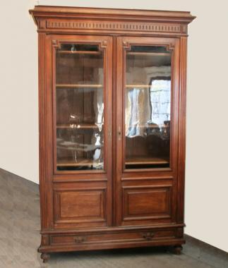 Napoleon III Glass Fronted Bibliothèque