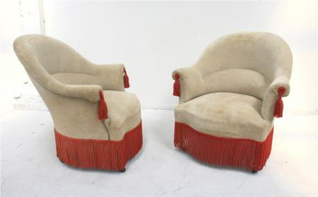 French Napoleon III Salon Chairs