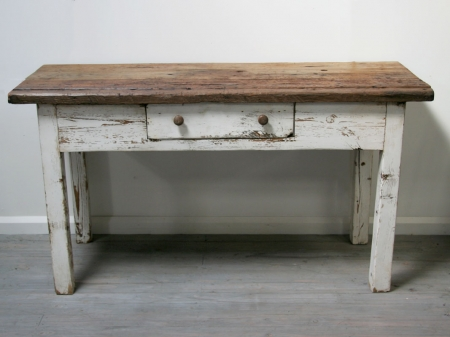 Rustic Potting Table From the Loire Valley
