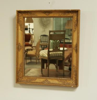 Small Empire Gilt Mirror