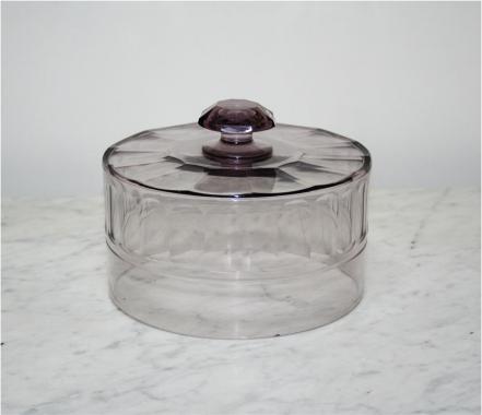 Amethyst Glass 19th Century Cloche