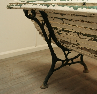 French 19th Century Garden Bench