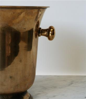 Brass Plated Champagne Bucket