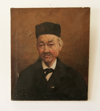Portrait Of A Chinese Gentleman.