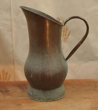 Large French Copper Jug