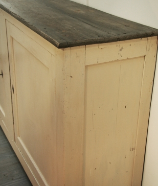French 19th Century Bakery Cupboard