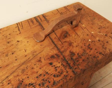 French Elm Workbench