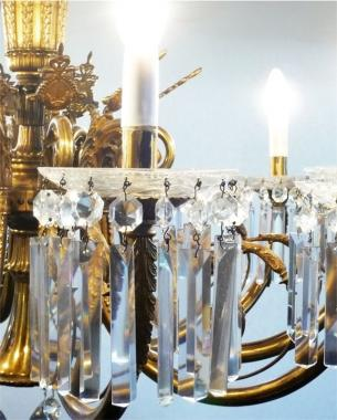 Magnificent French Empire chandelier