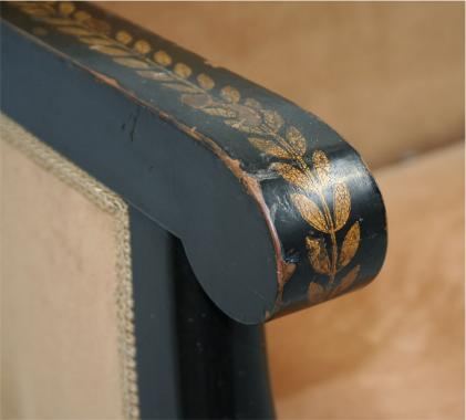 Louis Philippe Neoclassical Settee