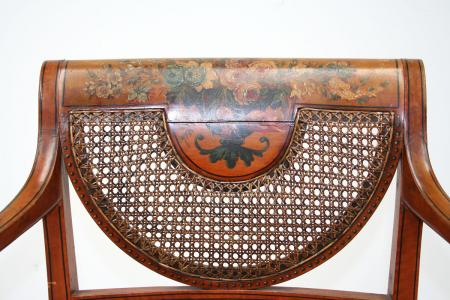 English Sheraton Style Armchair