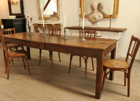 French Oak Farm Table