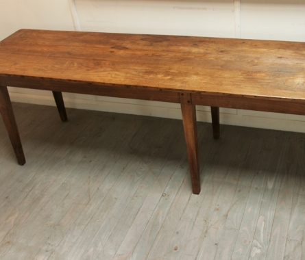 Unusual Long 19th Century French Table