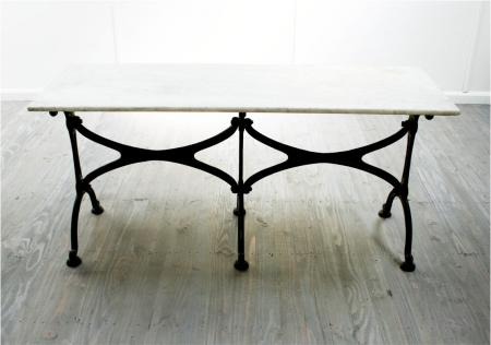 Long French Art Nouveau Café Table