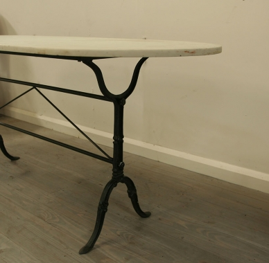 Long and Lovely French Bistro Table