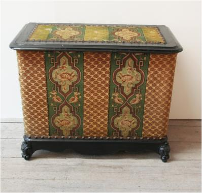 Napoleon III Ebonised Coffer