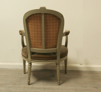 Pair Of Louis 16 Period Fauteuils