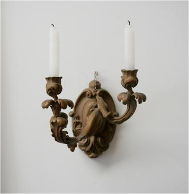 Pair of Louis 15 Style Sconces