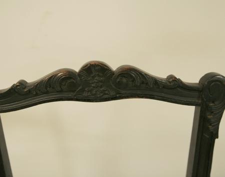 Set Of Four  Dainty  Napoleon III chairs