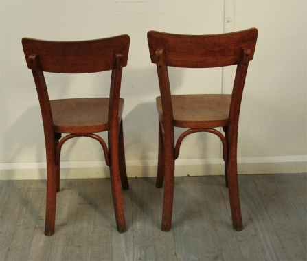 Set Of 6 French Bistro Chairs