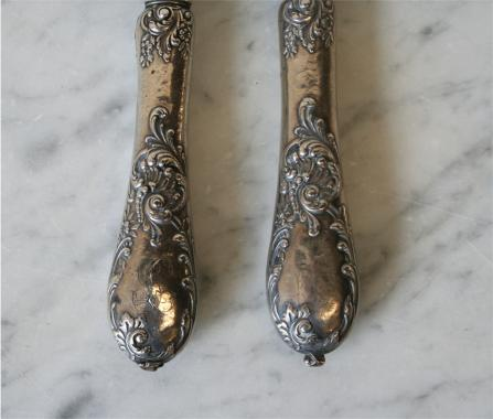 French Silver Plated Serving Set