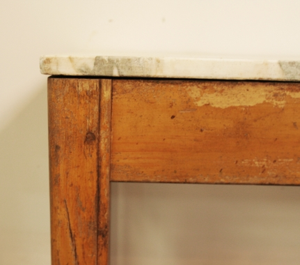 French Butchery Side Table