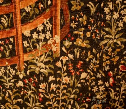 French Tapestry La Licorne Captive