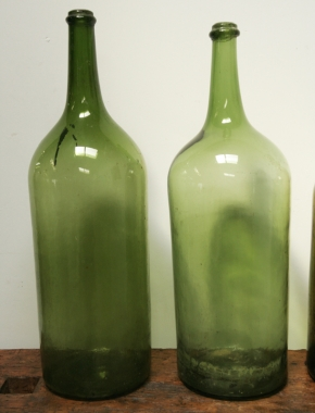 Large 19th Century Wine Or Vinegar Bottles