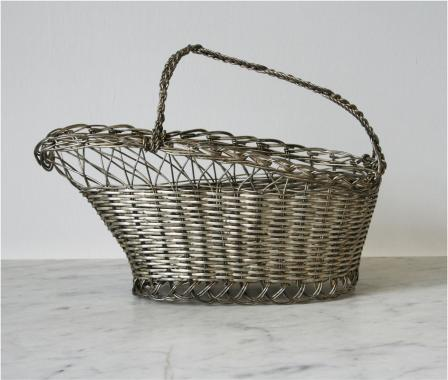A Selection of Wire Wine Baskets