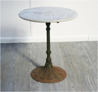 Charming French 19th Century Café Table