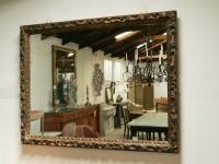 Sculpted 19th C Italian Mirror