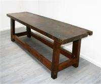 Large 19th Century Worktable