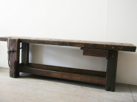 Long French 19th Century Workbench