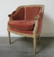Louis 16 Style Boudoir Chair