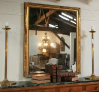 A Large Louis Philippe Period Giltwood Pier Mirror
