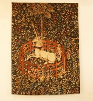 French Tapestry La Licorne Captive