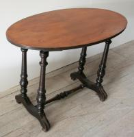 19th Century NZ Colonial Turned Side Table