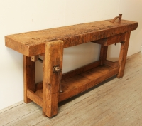 French Elm Workbench