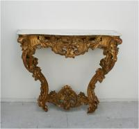French 19th Century Louis 15 Style Console